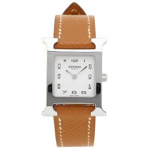 HERMES 腕時計 エルメス 036702WW00 HH1.210.131/UGO Hウォッチ ブラウン レディース シルバー ホワイト 1andone