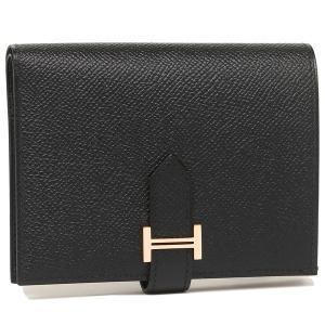 エルメス 折財布 レディース HERMES H039790CD 89 ブラック 1andone