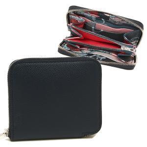 エルメス 折財布 レディース HERMES H069646CK AJ ネイビー シルバー金具 1andone