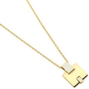 エルメス ネックレス アクセサリー レディース HERMES H146201F 49 ホワイト ゴールド 1andone