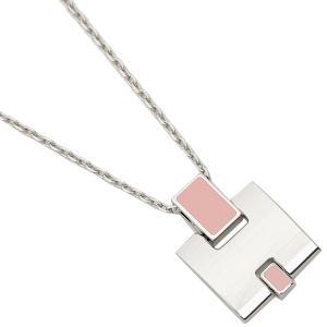 エルメス ネックレス アクセサリー レディース HERMES H146201FP 59 ピンク シルバー 1andone