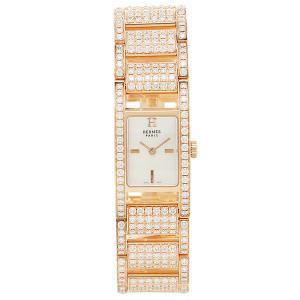 エルメス 腕時計 HERMES AC11722144011 ピンクパール ゴールド 1andone