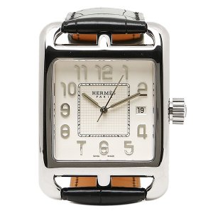 エルメス 腕時計 HERMES CD1 890 670 MNO ブラック ホワイト 1andone