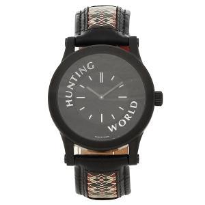 ハンティングワールド 腕時計 メンズ HUNTING WORLD HWS001BK ブラック|1andone