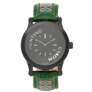 ハンティングワールド 腕時計 メンズ HUNTING WORLD HWS001GR グリーン ブラック|1andone