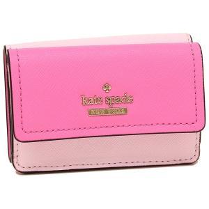 ケイトスペード 折財布 レディース KATE SPADE PWRU6439 694 ピンク ライトピンク|1andone