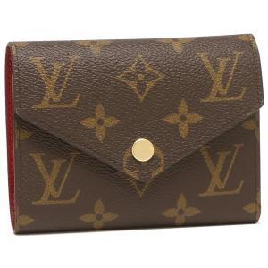 ルイヴィトン 二つ折り財布 レディース LOUIS VUITTON M41938 ブラウン/ピンク