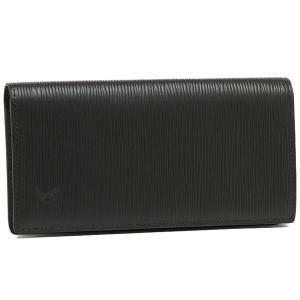 ルイヴィトン 財布 LOUIS VUITTON M60622 エピ ポルトフォイユ・ブラザ 長財布 ノワール|1andone
