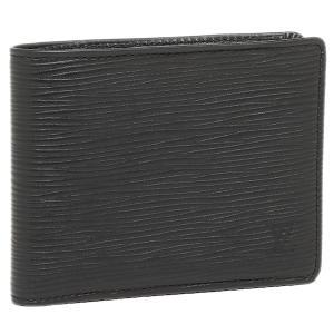 ルイヴィトン 財布 LOUIS VUITTON M60662 エピレザー ポルトフォイユ・ミュルティプル 2つ折り財布 ノワール|1andone