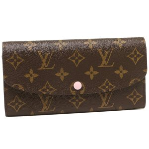 ルイヴィトン 長財布 レディース LOUIS VUITTON M61289 ブラウン ピンク|1andone
