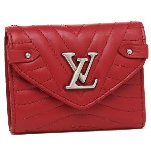 ルイヴィトン 折財布 レディース LOUIS VUITTON M63428 レッド|1andone