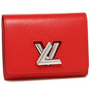 ルイヴィトン 二つ折り財布 レディース LOUIS VUITTON M64413 レッド|1andone