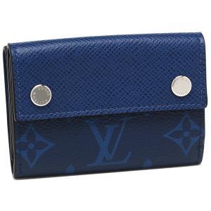 ルイヴィトン メンズ 折り財布 LOUIS VUITTON M67620 コバルト|1andone