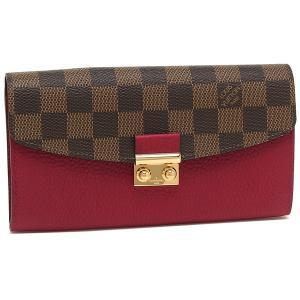ルイヴィトン 長財布 レディース LOUIS VUITTON N60207 ブラウン ピンク|1andone