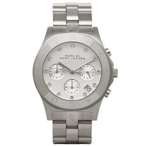 マークバイマークジェイコブス 時計 レディース MARC BY MARC JACOBS 腕時計 MBM3100 ホワイト/シルバー ウォッチ|1andone
