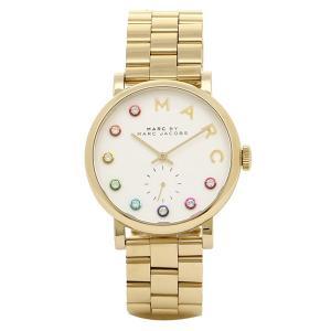 マークバイマークジェイコブス 腕時計 MARC BY MARC JACOBS MBM3440 ゴールド ホワイト|1andone