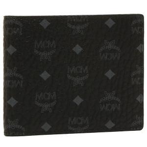 エムシーエム メンズ 折財布 MCM MXS6AVI66BK001 ブラック マルチ 1andone