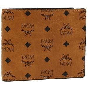 エムシーエム メンズ 折財布 MCM MXS6AVI66CO001 ブラウン マルチ 1andone