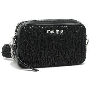 ミュウミュウ ショルダーバッグ レディース MIU MIU 5BH118 2B6C F0002 ブラック|1andone