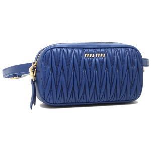 ミュウミュウ ウエストバッグ レディース MIU MIU 5BL005 N88 F0013 ブルー|1andone