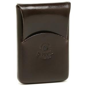 ペローニ カードケース レディース メンズ PERONI 1249 CARD CASE BROWN ブラウン|1andone