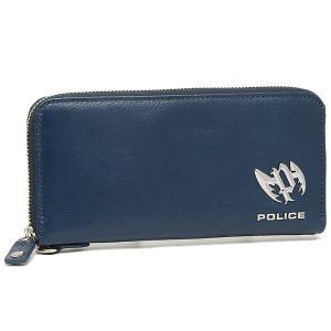ポリス メンズ 長財布 POLICE PLC121 ブルー|1andone