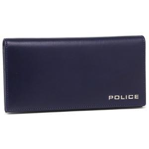 ポリス メンズ 長財布 POLICE PLC132 ネイビー|1andone