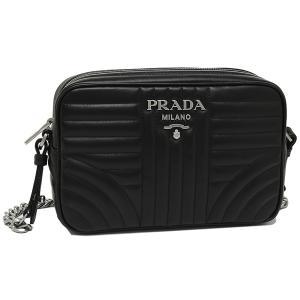 プラダ ショルダーバッグ レディース PRADA 1BH083 2D91 F0633 COI ブラック|1andone