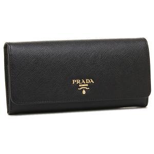 プラダ 財布 レディース PRADA 1MH132 QWA F0002 SAFFIANO METAL ORO 長財布 NERO|1andone