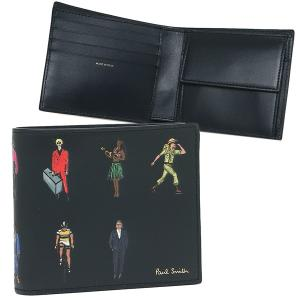 ポールスミス 折財布 メンズ PAUL SMITH 4833 A40255 47 ネイビー マルチカラー|1andone
