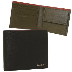 ポールスミス 折財布 メンズ PAUL SMITH 4833 BSTRGR 79 ブラック|1andone