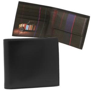 ポールスミス メンズ 折り財布 PAUL SMITH 4833 W718P 79 ブラック|1andone