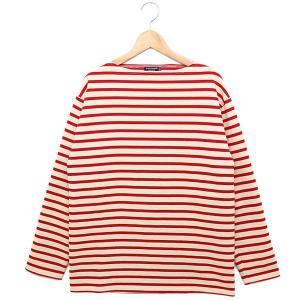 セントジェームス 長袖ボーダーTシャツ 2501 MP GUILDO RA ギルド 男女兼用バスクシャツ ECRU/TULIPE OUESSANT/ウエッソン後継モデル|1andone