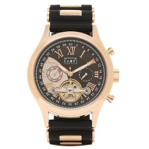 ゾンネ メンズ 腕時計 SONNE H016PG BK ブラック ピンクゴールド 1andone