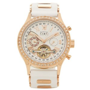 ゾンネ メンズ 腕時計 SONNE H016PGZ WH ホワイト ピンクゴールド 1andone