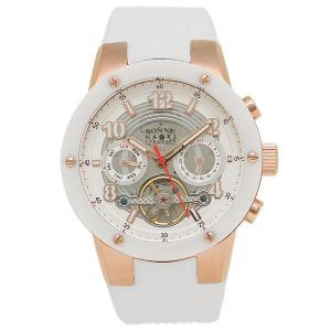 ゾンネ 腕時計 SONNE H017PG-WH            ホワイト ローズゴールド 1andone