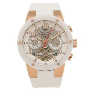 SONNE メンズ 腕時計 ゾンネ H017PG-WH ホワイト ローズゴールド 1andone