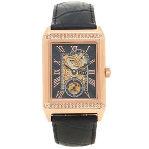 ゾンネ 腕時計 メンズ 手巻き SONNE H021PGZNV ピンクゴールド ネイビー 1andone