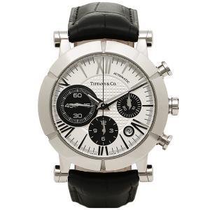 ティファニー 時計 メンズ TIFFANY&Co Z10008212A21A71A 自動巻 ATLAS GENT 腕時計 ウォッチ シルバー/ブラック