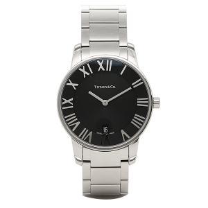 ティファニー 時計 メンズ TIFFANY&Co Z18001110A10A00A ATLAS DOME アトラス ドーム 腕時計 ウォッチ シルバー/ブラック|1andone