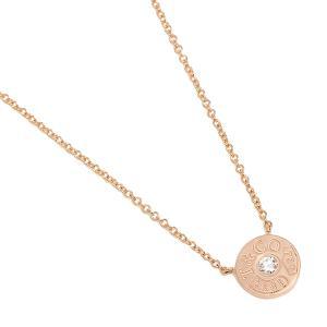 ティファニー ネックレス アクセサリー TIFFANY&Co. 33286007 1837 18K サークル ペンダント ダイアモンド16in 18R ローズゴールド|1andone