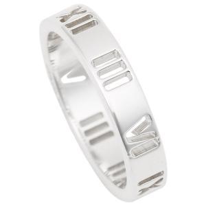 ティファニー リング アクセサリー TIFFANY&Co. アトラス ナローリング 指輪 シルバー|1andone