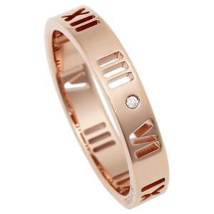 ティファニー リング アクセサリー アトラス ダイヤモンド 18K 指輪 ローズゴールド|1andone