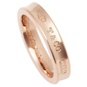 ティファニー リング アクセサリー TIFFANY&Co. 1837 ナローリング ルベド RUBEDO レディース 指輪 ローズゴールド|1andone