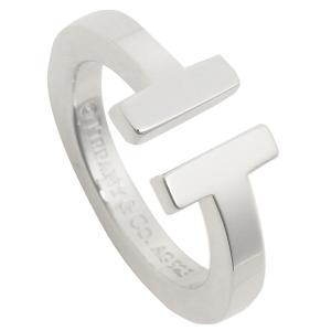 ティファニー リング アクセサリー TIFFANY&Co. Tスクエア T SQUARE RING レディース 指輪 シルバー|1andone