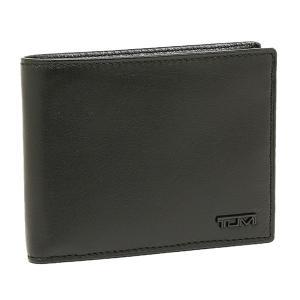 トゥミ 二つ折り財布 TUMI 18637 D ブラック|1andone