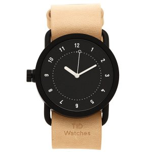 ティッドウォッチ 腕時計 メンズ/レディース TID01-36BK/N ブラック ナチュラル TID Watches 1andone