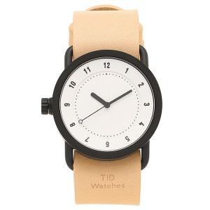 ティッドウォッチ 腕時計 メンズ/レディース TID01-36WH/N ブラック ホワイト ナチュラル TID Watches 1andone