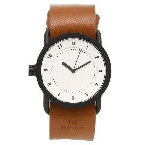 ティッドウォッチ 腕時計 メンズ/レディース TID01-36WH/T ブラック ホワイト タン TID Watches 1andone