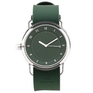 ティッドウォッチ 腕時計 メンズ/レディース TID03-GR/GR クリア グリーン TID Watches 1andone